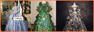 オペラ衣装 女性カラードレス
